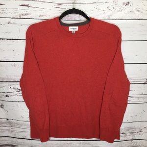 Goodfellow xl red-orange sweater